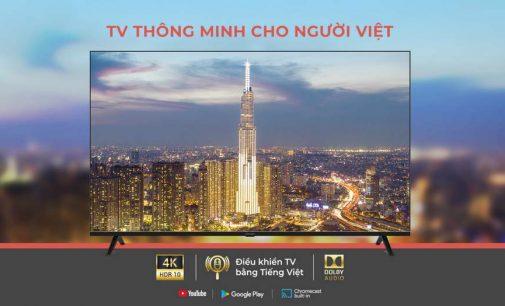 5 mẫu tivi thông minh Vsmart đầu tiên đã ra thị trường