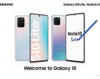 Samsung ra mắt Galaxy S10 Lite và Galaxy Note10 Lite tại Việt Nam