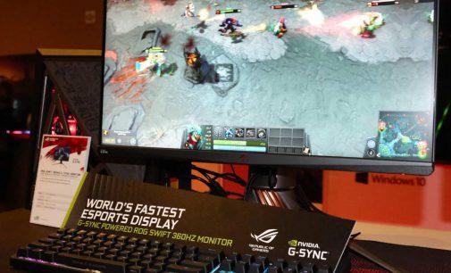ASUS ROG ra mắt màn hình chơi game 360Hz đầu tiên trên thế giới