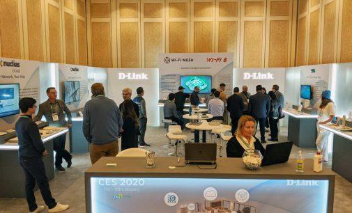 D-Link giới thiệu loạt router hỗ trợ Mesh, Wi-Fi 6 và giải pháp 5G tại CES 2020