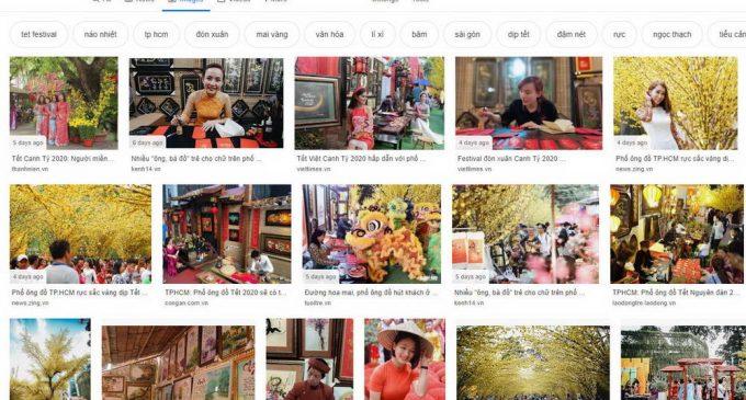 Tết Canh Tý, người Việt tìm gì trên mạng Internet?