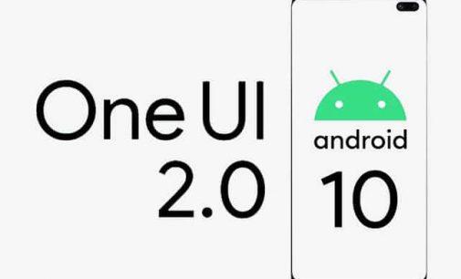Samsung lên đời Android 10 với One UI 2