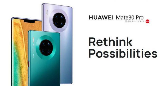 HUAWEI Mate 30 Pro được bán chính thức tại Việt Nam