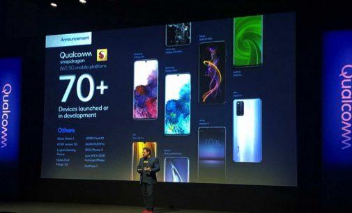 Loạt điện thoại 5G 2020 đầu tiên chạy nền tảng di động 5G Qualcomm Snapdragon 865