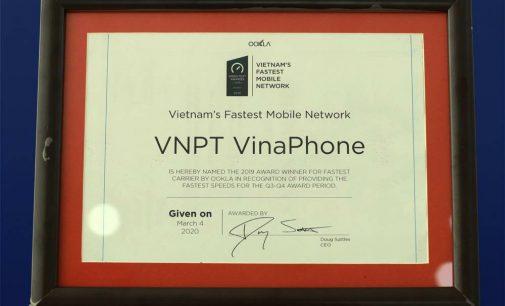 VinaPhone năm thứ hai là nhà mạng 3G/4G nhanh nhất Việt Nam