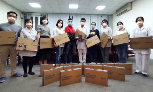 ASUS hỗ trợ thiết bị trị giá 10.000 USD cho cơ quan phòng chống dịch COVID-19 của Việt Nam