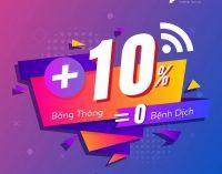HTC Viễn thông Quốc tế tăng băng thông Internet nhưng không tăng giá