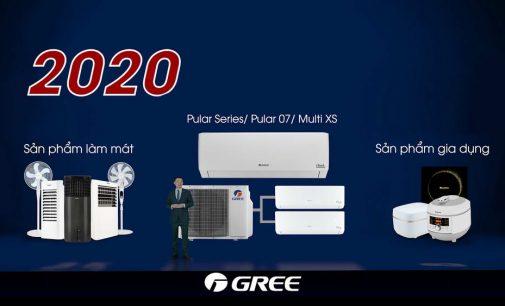 Gree ra mắt thế hệ máy điều hòa2020 và tham gia thị trường điện máy gia dụng Việt Nam