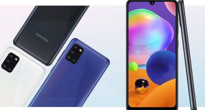 Samsung Galaxy A31 có camera macro 5MP và dung lượng pin lớn nhất dòng Galaxy A bán tại Việt Nam