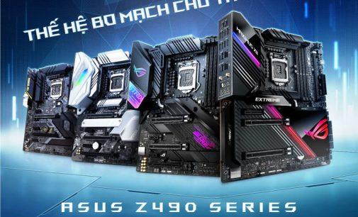 ASUS giới thiệu dòng bo mạch chủ Z490 công nghệ AI cho bộ xử lý Intel Gen 10 mới