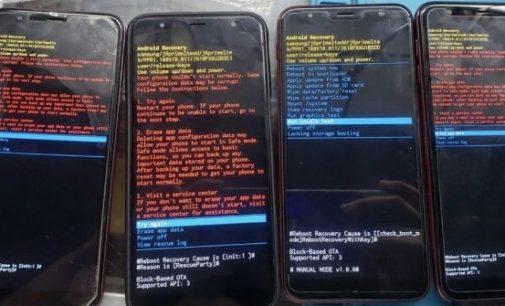 Nhiều smartphone Samsung Galaxy J series gặp sự cố treo máy