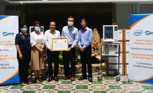 Nhà máy Intel Việt Nam tặng TP.HCM máy thở và khẩu trang chung tay phòng chống đại dịch COVID-19