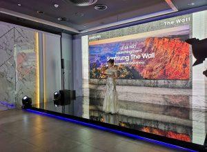 Samsung giới thiệu màn hình The Wall ở Việt Nam