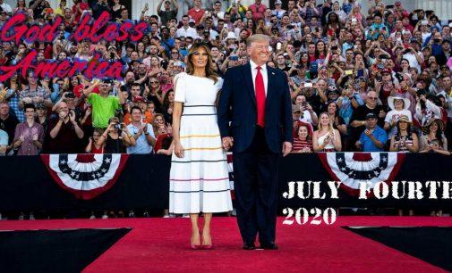 Happy July Fourth 2020 tới các bạn tôi ở Hoa Kỳ