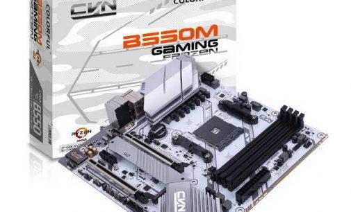 Dòng bo mạch chủ COLORFUL AMD B550 tầm trung hỗ trợ PCIe Gen 4