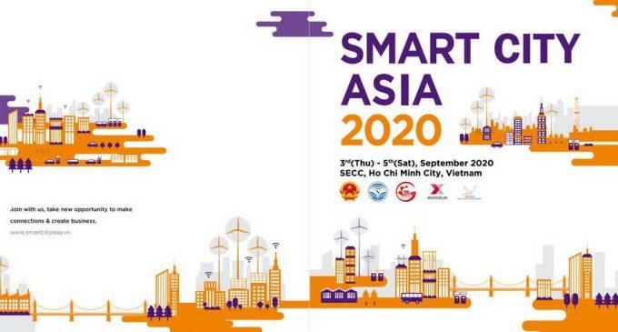 Diễn đàn và triển lãm quốc tế Đô thị Thông minh Châu Á – Smart City Asia 2020 tại TP.HCM tháng 9-2020