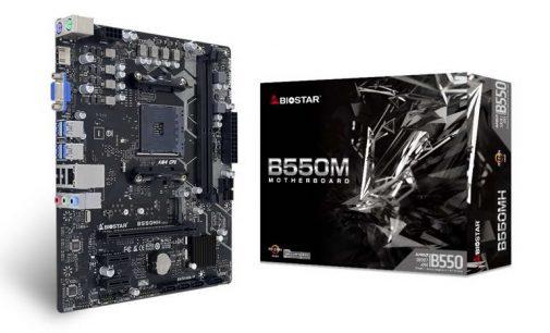 Biostar công bố motherboard B550MH cho CPU AMD Ryzen thế hệ thứ 3