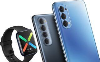 Unbox smartphone OPPO Reno4, Reno4 Pro và đồng hồ thông minh OPPO Watch (21-7-2020)