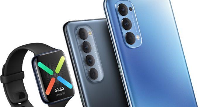 Unbox dòng smartphone OPPO Reno4 series và đồng hồ thông minh OPPO Watch