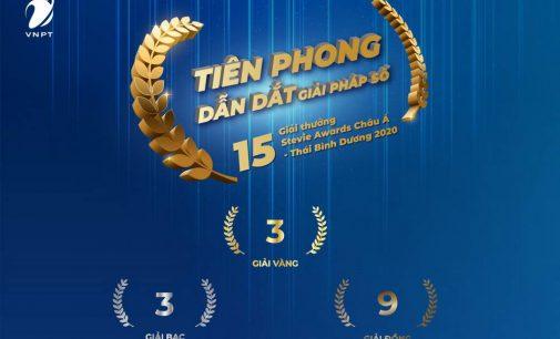 VNPT đạt 15 giải thưởng Stevie Awards Châu Á – Thái Bình Dương 2020