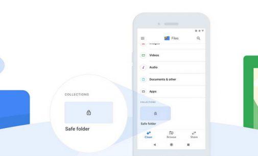 Google Files có thêm tính năng Thư mục An toàn