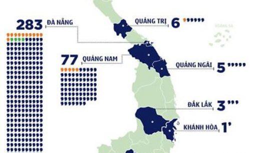 Sáng 12-8-2020, Việt Nam có thêm 3 ca nhiễm SARS-CoV-2 mới và bệnh nhân COVID-19 thứ 17 qua đời