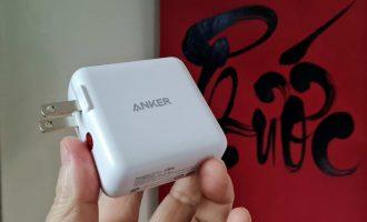 Xài thử cục sạc nhanh Anker PowerPort III Duo 36W