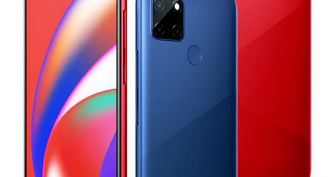 Realme ra mắt smartphone Realme C12 pin 6.000mAh