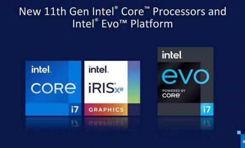 CPU Intel Core thế hệ 11 hoàn toàn mới tăng sức mạnh cho laptop mỏng nhẹ