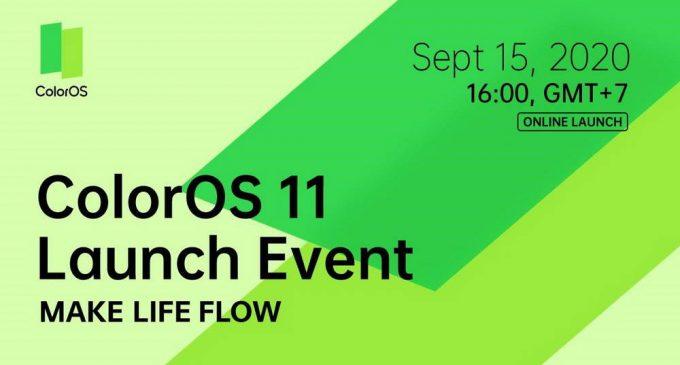 OPPO chính thức ra mắt ColorOS 11