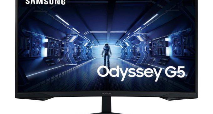 Samsung giới thiệu màn hình gaming cong Odyssey G5 tại Việt Nam