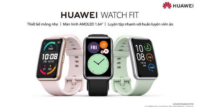 Đồng hồ thông minh thể thao Huawei Watch Fit bán tại Việt Nam