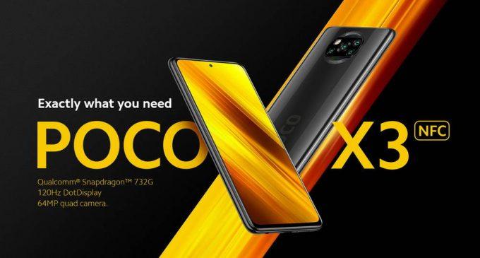 """Smartphone tầm trung """"khủng"""" POCO X3 NFC đã có mặt tại thị trường Việt Nam"""