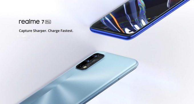Smartphone realme 7 Pro với pin sạc siêu tốc 65W