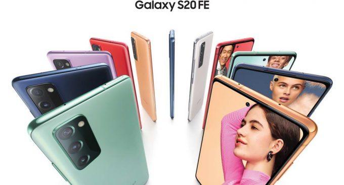Samsung Galaxy S20 FE thu hút người tiêu dùng đến với trải nghiệm Galaxy S cao cấp