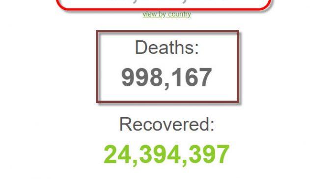 Thế giới đã có hơn 33 triệu người được ghi nhận nhiễm coronavirus SARS-CoV-2