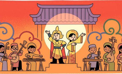 Google tôn vinh nghệ thuật cải lương nhân Ngày Giỗ Tổ nghiệp Sân khấu Việt Nam
