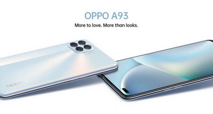 Smartphone OPPO A93 với 6 camera AI Portrait bắt đầu được bán tại Việt Nam