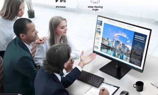 Samsung Vina ra mắt bộ đôi màn hình máy tính doanh nghiệp T35F và T45F