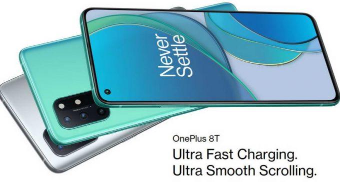 OnePlus ra mắt toàn cầu smartphone OnePlus 8T 5G