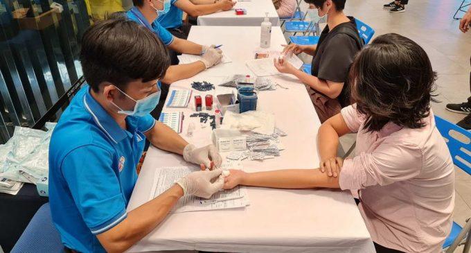 """Samsung Vina và Roche Việt Nam cùng tổ chức chương trình """"Hiến máu, cứu người"""""""