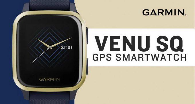 Đồng hồ GPS thông minh Garmin Venu Sq