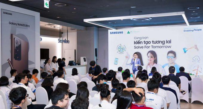 Samsung khuyến khích học sinh phổ thông sáng tạo với cuộc thi Cùng bạn Kiến tạo Tương lai – Solve for Tomorrow 2020
