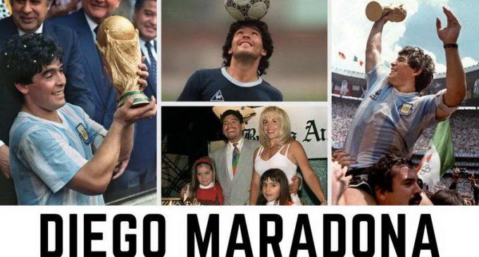 Vĩnh biệt một huyền thoại túc cầu giáo: Diego Maradona