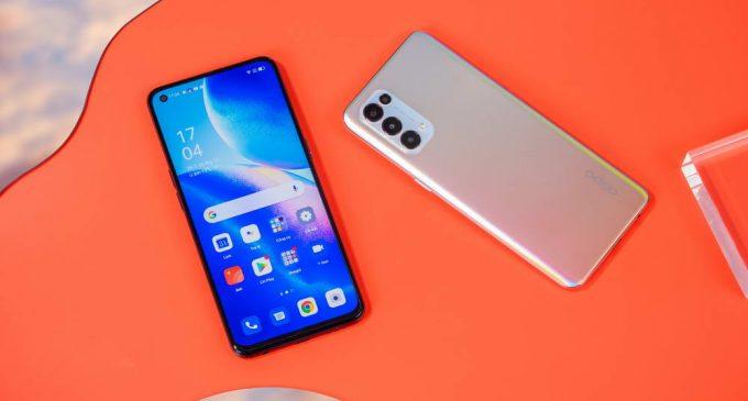Smartphone OPPO Reno5 màn hình AMOLED 90Hz ra mắt tại Việt Nam
