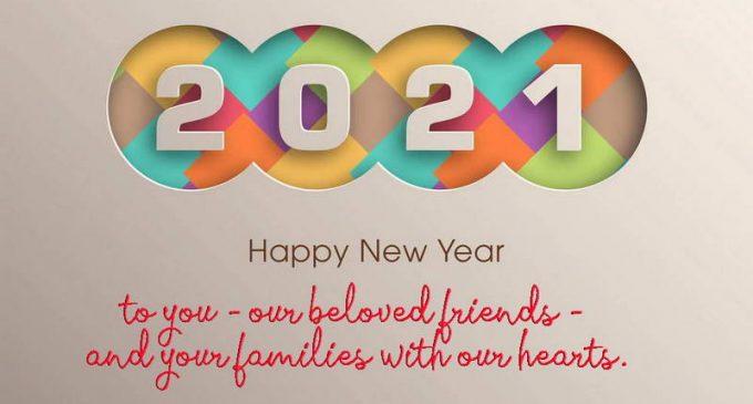 Chúc mừng Năm mới – Happy New Year 2021