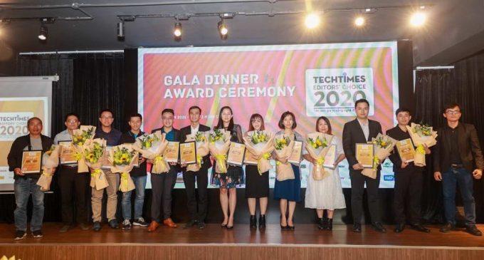 24 sản phẩm và dịch vụ được trao giải thưởng TechTimes Editors' Choice 2020