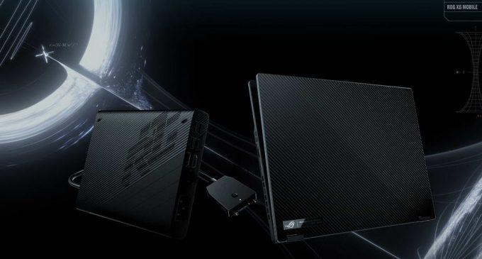 ROG ra mắt laptop gaming xoay gập ROG Flow X13 và dock đồ họa rời XG Mobile
