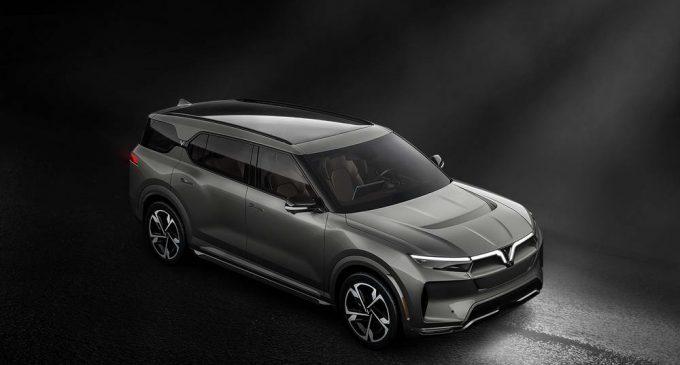 VinFast ra mắt 3 dòng ôtô điện tự lái trang bị AI