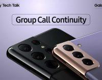 Câu chuyện công nghệ Galaxy S21 (8): Cuộc gọi nhóm liên tục